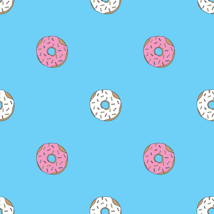 Donuts! Donuts!   #pattern #donuts #donutpattern  #illustration #drawing #textile #repeatpattern #food #foodporn #illustrate #handdrawn #handmade #doodles #doodle