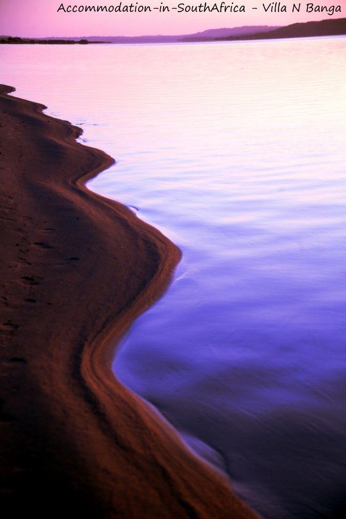 The Lagoon at Villa N'Banga. Villa N'Banga Mozambique.