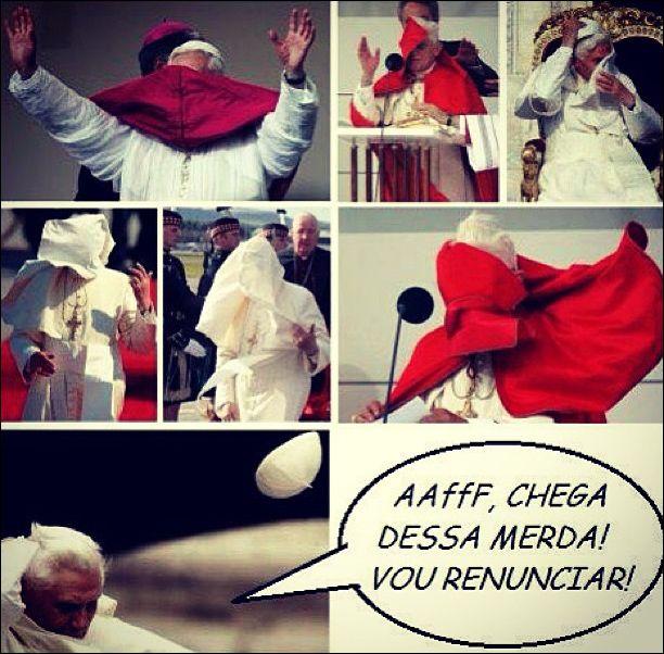A renuncia do Papa