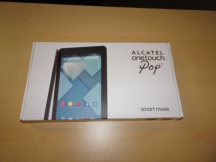 """Lot of 5 ALCATEL ONETOUCH POP 7 8GB Tablets WiFi + 4G (T-Mobile) 7"""" Black"""