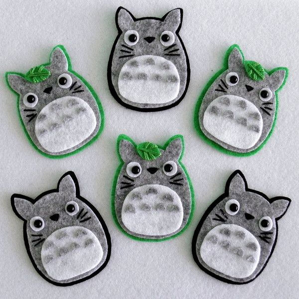Totoro Hair Clip or Brooch You Choose Style ($10) ❤ liked on Polyvore featuring accessories, hair accessories, barrettes & clips, grey, alligator hair clips, barrette hair clips, hair clip accessories, silver hair accessories and silver hair clips