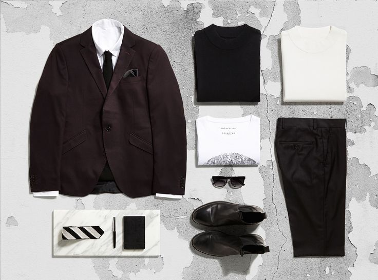 A suit doesn't have to be black.