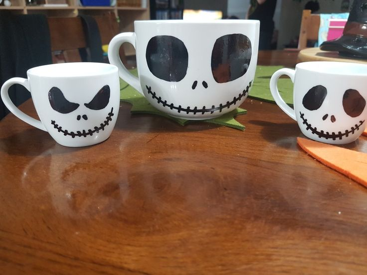 My hand made cups of Jack.