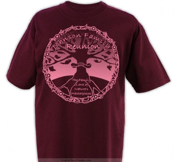 fall family tree shirt family reunion design sp1998 - T Shirt Design Ideas Pinterest