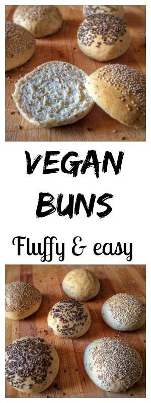 New recipe ! Vegan buns for burgers #vegan #buns #burger