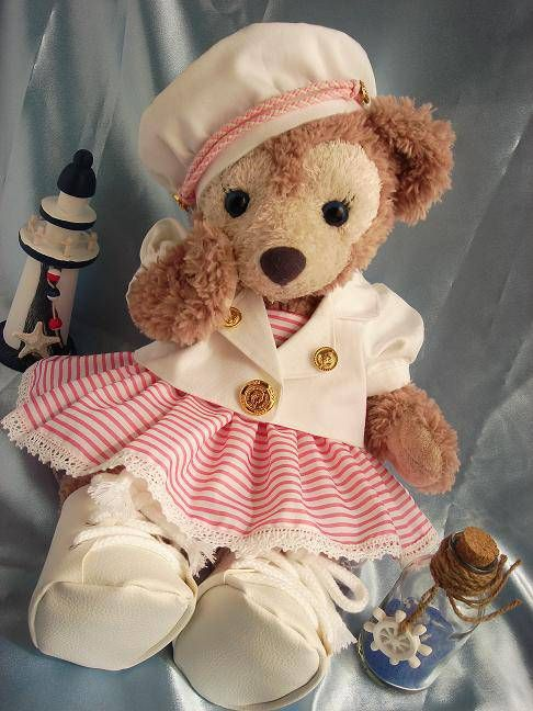 Shirley Temple costume for ShellieMay, the Disney Bear.