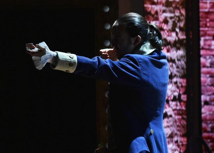Tony performance of Hamilton. Click on the link to watch the video