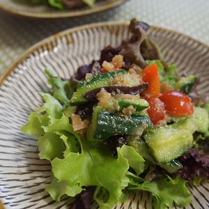野菜もりもり中華風サラダ