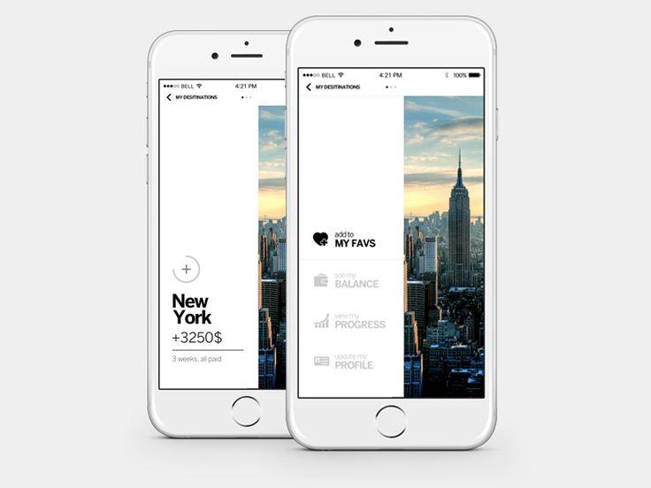 Favorite Travel App concept by Igor Ivankovic