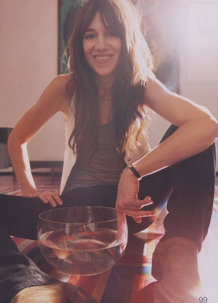 The most beautiful photos of Charlotte Gainsbourg: