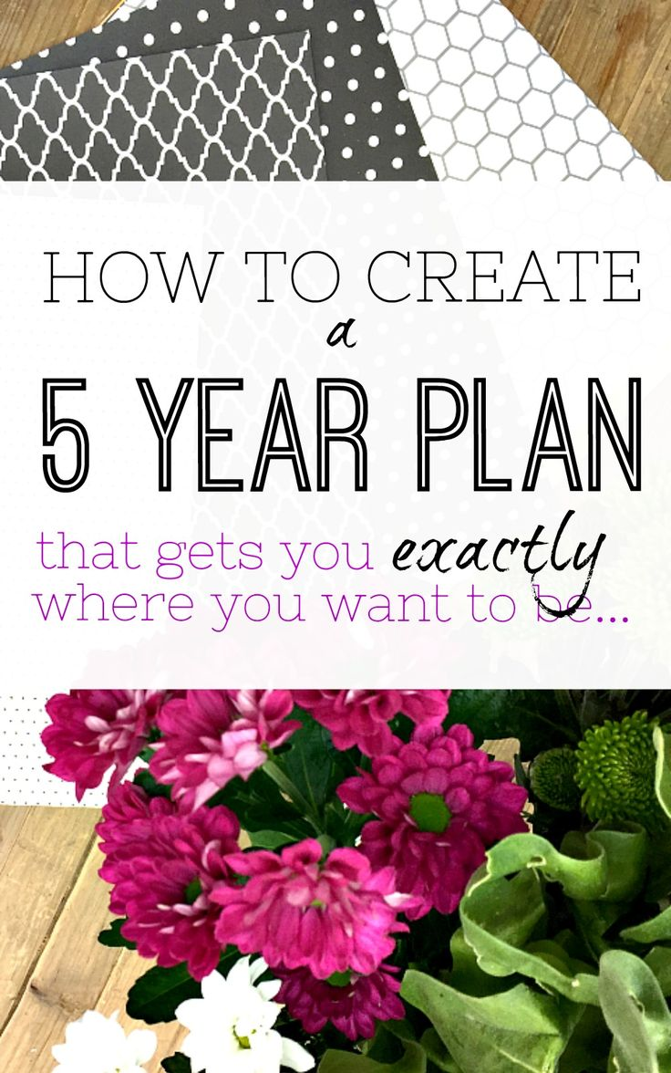 WOW! - This is the perfect method to create a 5 year plan that really works. It's easy, but very effective, and definitely worth a try. How to create a 5 year plan, life plan made easy