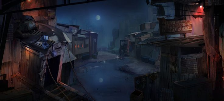 The Night at Slum by Pui Jo Ng (Mini River) from The One Academy via @therookiesco