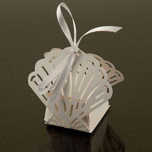 Sea Shell Favor Candy Box Party Wedding Decorations 24pcs | eBay