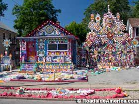 The Second Coming House. 1308 Ontario Ave., Niagara Falls, NY