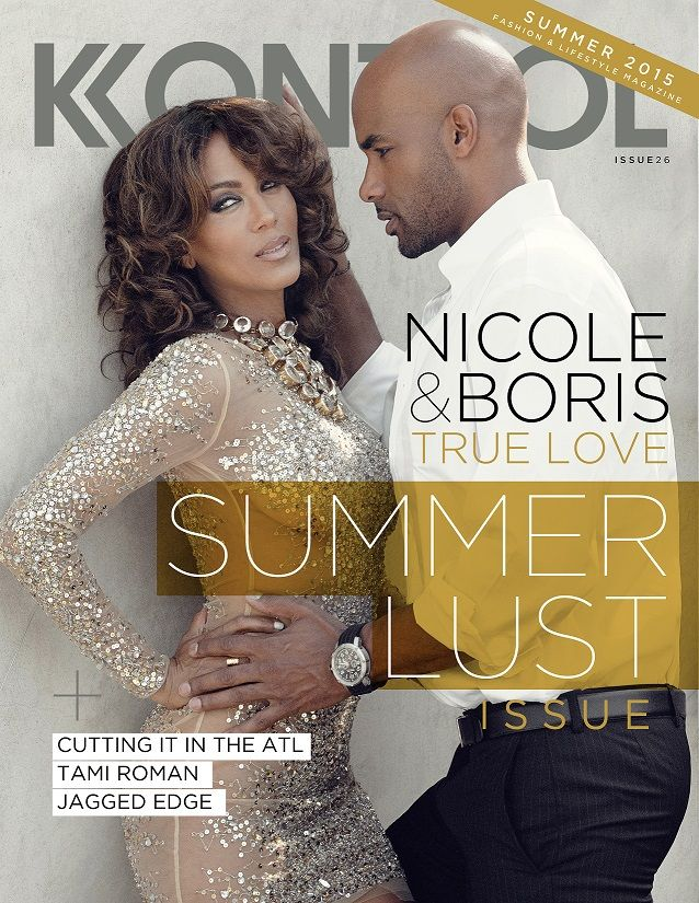 Boris Kodjoe and Nicole Ari Parker sizzle on the summer cover of Kontrol Magazine