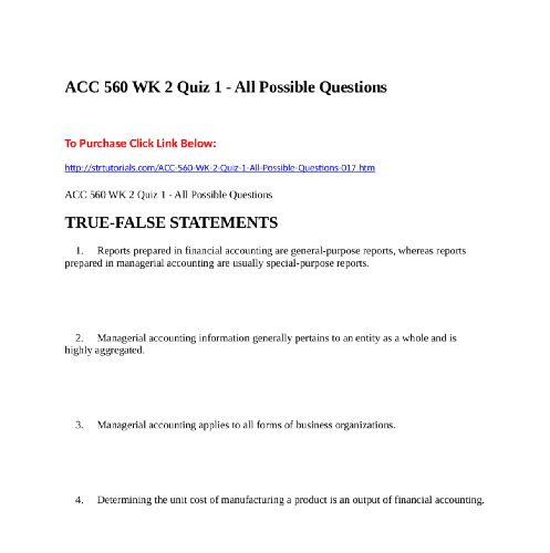 Acc  Wk  Quiz   All Possible Questionsto Purchase Click Link