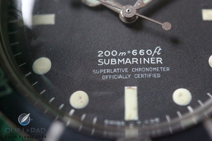 Afterglow: A 1967 Rolex Submariner Reference 5512 With Tritium/Zinc Sulfide Markers | Quill & Pad