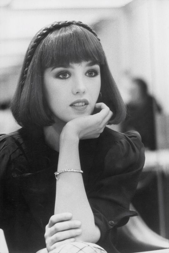 Isabelle Adjani by Claude Azoulay, 1977