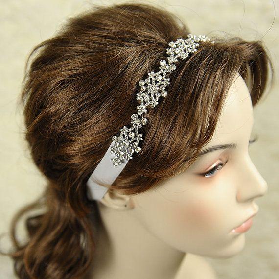 VALLERIE Victorian Style Rhinestone Silk by GlamorousBijoux, $92.00