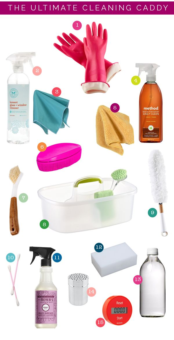 Organize This: The Ultimate Cleaning Caddy