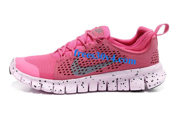 Pink White Nike Free Powerlines II Women's Shoes   #Pink #Womens #Sneakers