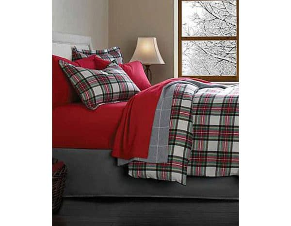 Best Inexpensive Flannel Bed Sheets Plus How To Prevent Pilling Plaid Bedding Home Bedroom Bedroom Decor