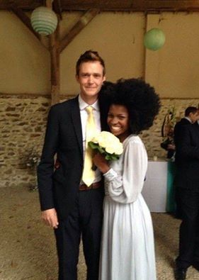 Amazing interracial couple from Scotland and the Congo #love #wmbw #bwwm