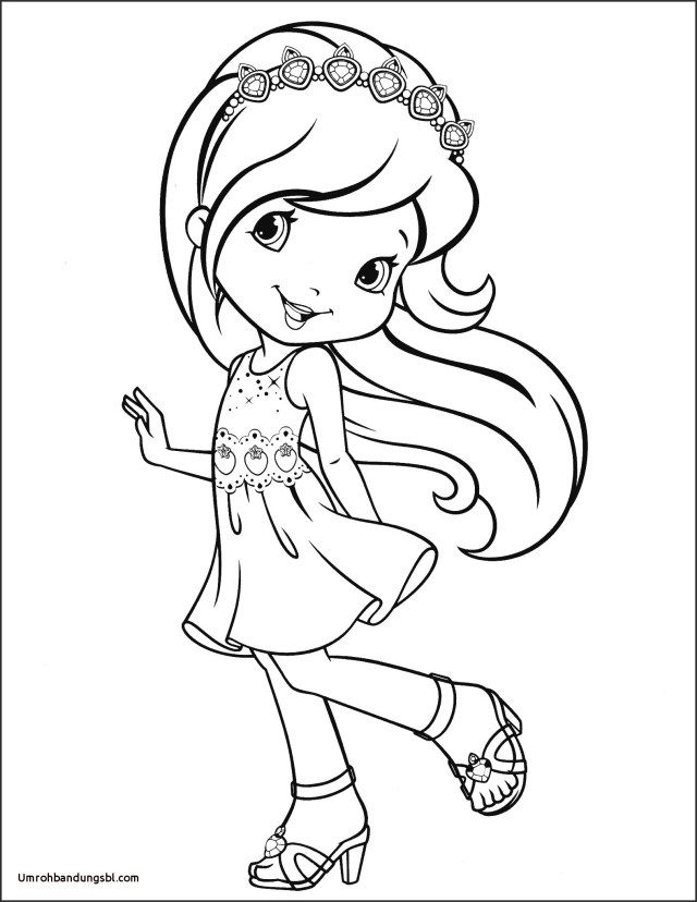 21 Pretty Photo Of Strawberry Shortcake Coloring Pages