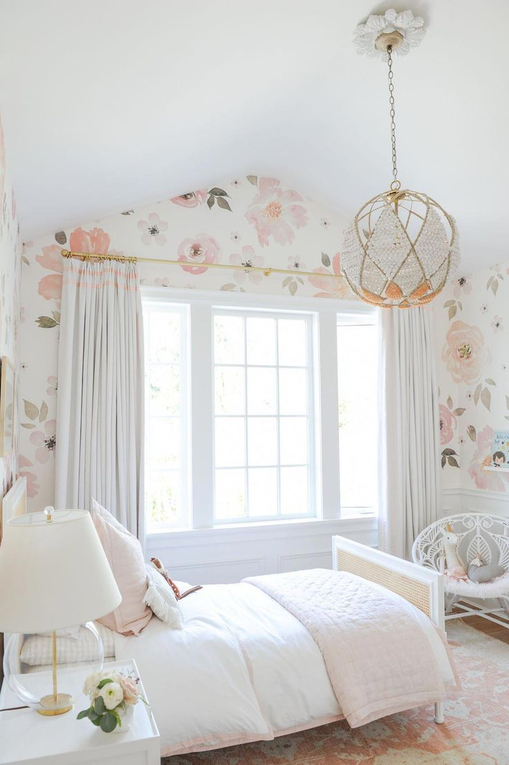Favouritebedroomideas Pink Floral All Paper Pink White And Gold