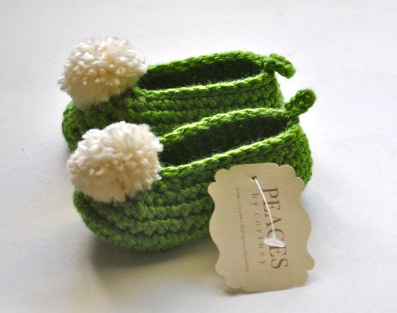 Tinker Bell Baby Girl Slippers - Disney Tinkerbell Baby Booties, Baby Slippers, Newborn Slippers, Baby Shoes on Etsy, $21.00