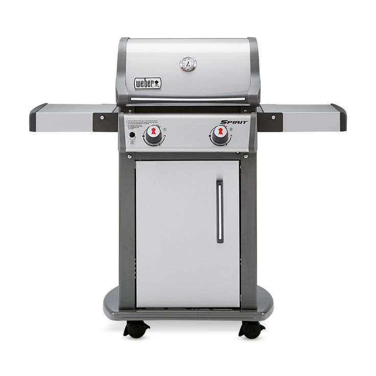 Weber Spirit S-210 Stainless Steel 2-Burner (26,500-BTU) Liquid Propane Gas Grill