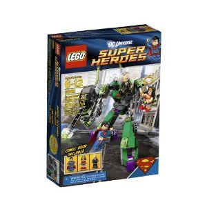 Love my LEGO Super Heroes Superman(TM) vs. Power Armor Lex !