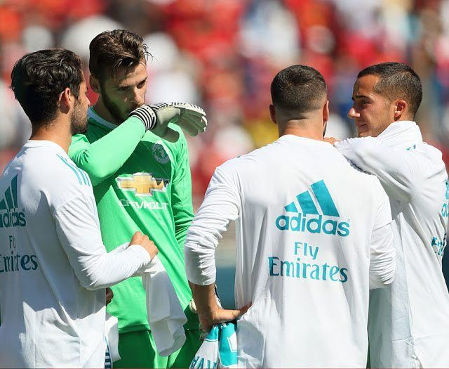 Today's Gossip: Man Utd To Allow De Gea Leave; Chelsea Keen On Candreva ------------------------- Red Devils To Allow De Gea Exit Man Utd will allow David De Gea to join Real Madrid next summer if they can secure a deal to sign Gianluigi Donnarumma from AC Milan. The Spain No 1 is desperate to return to to his homeland but has a contract until 2019  and will not force a move. However should Jose Mourinho manage to find a suitable replacement he would let De Gea 26 return to the Spanish…