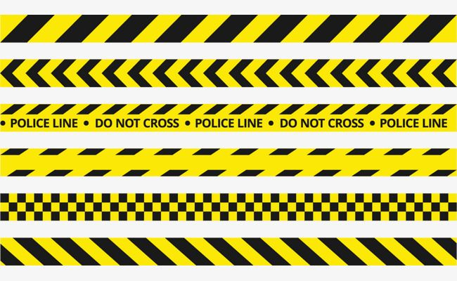 Vector Yellow Police Tape Yellow Cordon Stripe Png Transparent Clipart Image And Psd File For Free Download Police Tape Police Traffic Lines
