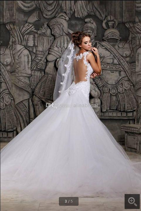 Vestido de novia - VN319 (espalda)
