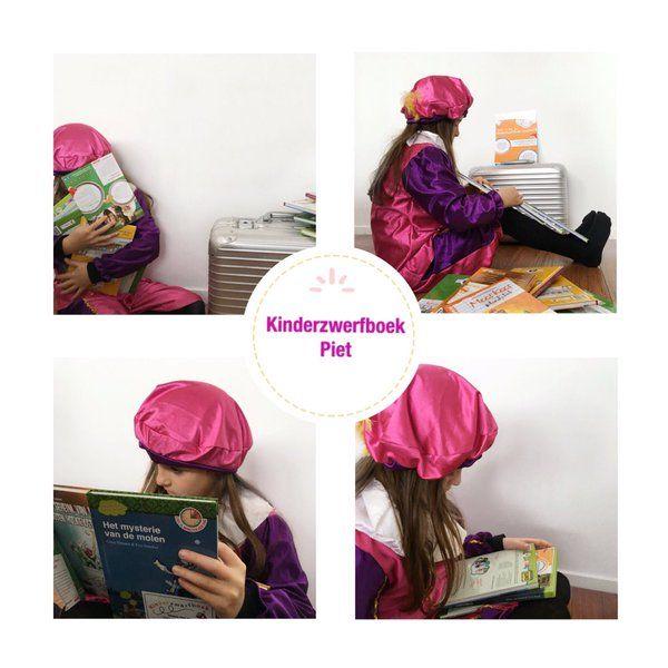 Kinderzwerfboek Piet helpt mee met sorteren Kinderboeken en stickers plakken.  photos: Daisy Gilyamse Photography