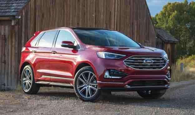2021 Ford Edge Redesign Ford Edge Ford Suv Models Ford