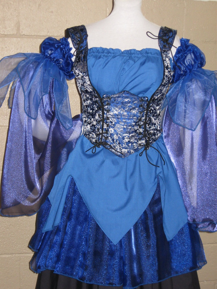 Renaissance Fairy Princess Costume via Etsy.
