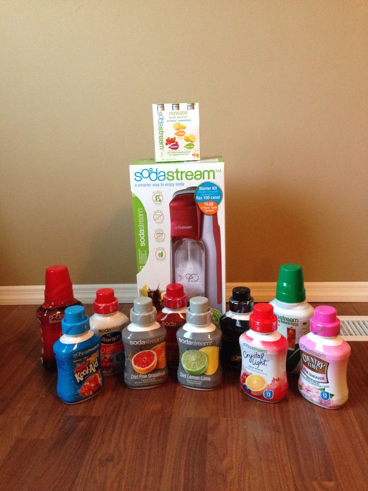 SodaStream Review from Fluffbumbabies