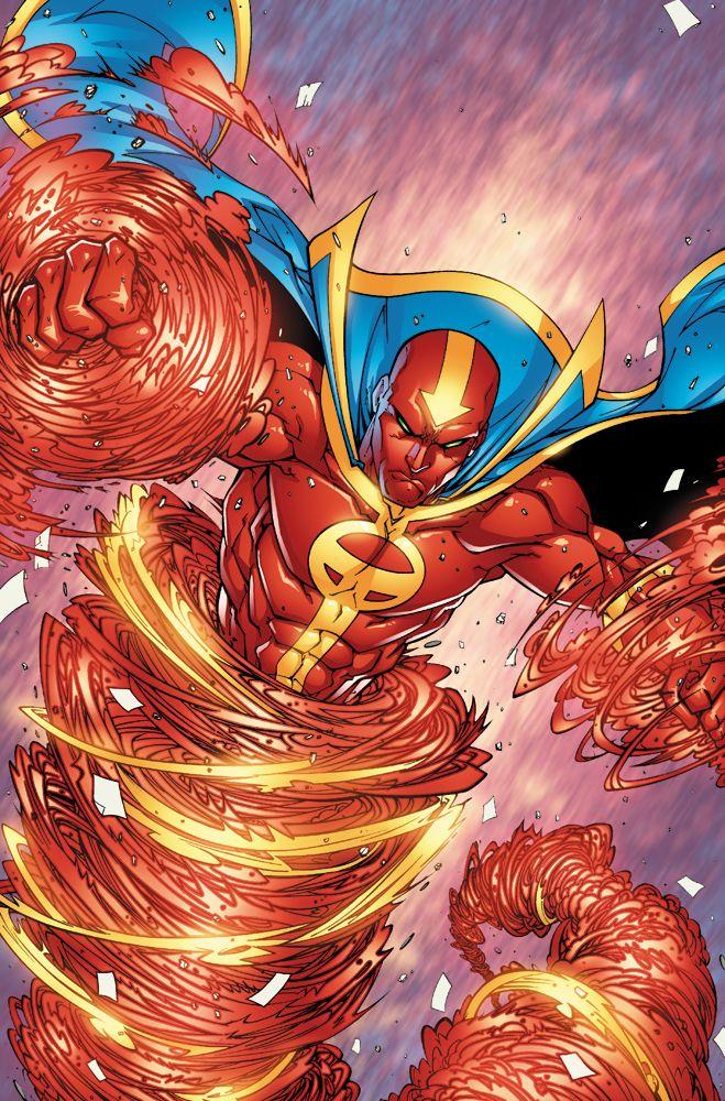 Red Tornado by Jonboy Meyers | Comics | Pinterest