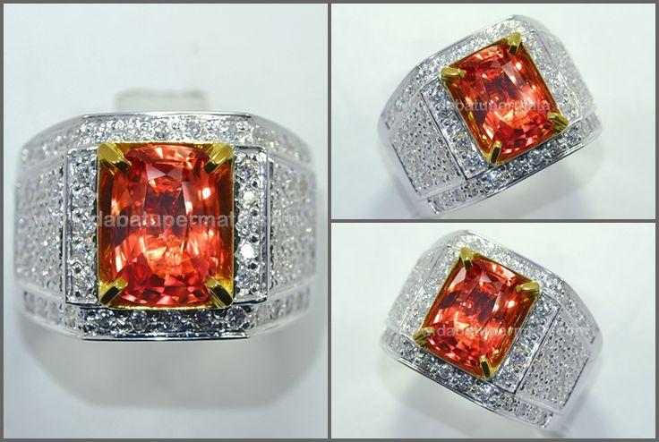 Exclusive Sparkling Hot PADPHARASCHA SAFIR. Crystal Mulus - PP 102