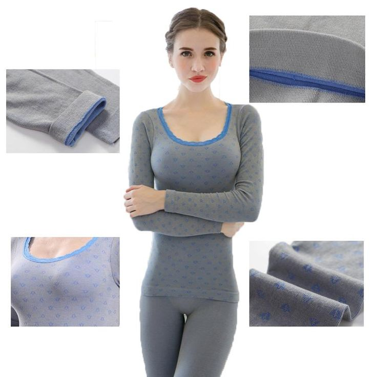 Women Casual Warm Winter Bodysuit Long Johns Clothing Sets Shaperwear termica thermal underwear women thermos lingerie intimates