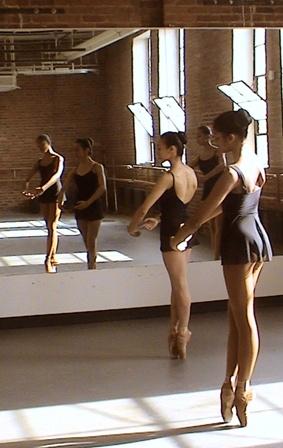 Photo: Judy Tyrus  Dance Theater of Harlem students