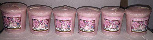 Yankee Candle Lot of 6 Snowflake Cookie Votives >>> Visit the image link more details.