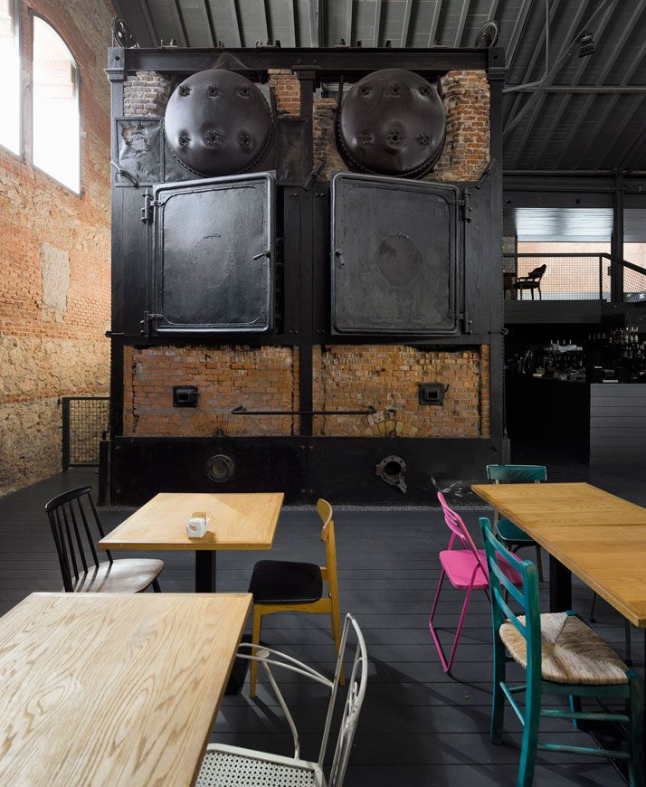 """old slaughterhouse converted into a new art center 