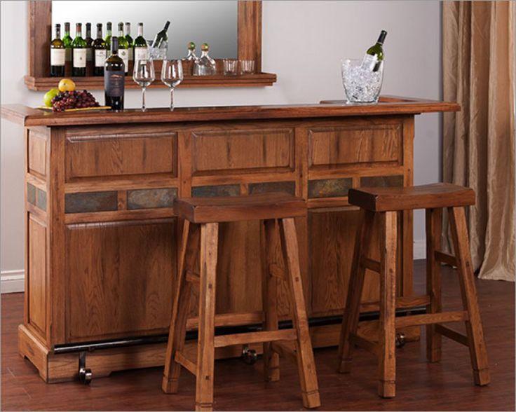 sedona 78 bar w rail by sunny designs su 2575ro - Sunny Designs Desk