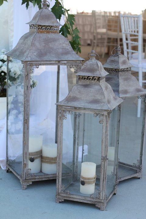 lanterns (wedding by Old, New, Borrowed & Blue Wedding and Event Planning)