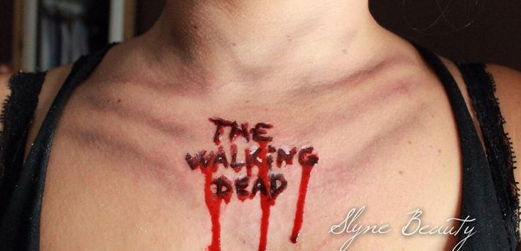 Make up The Walking Dead Zombie