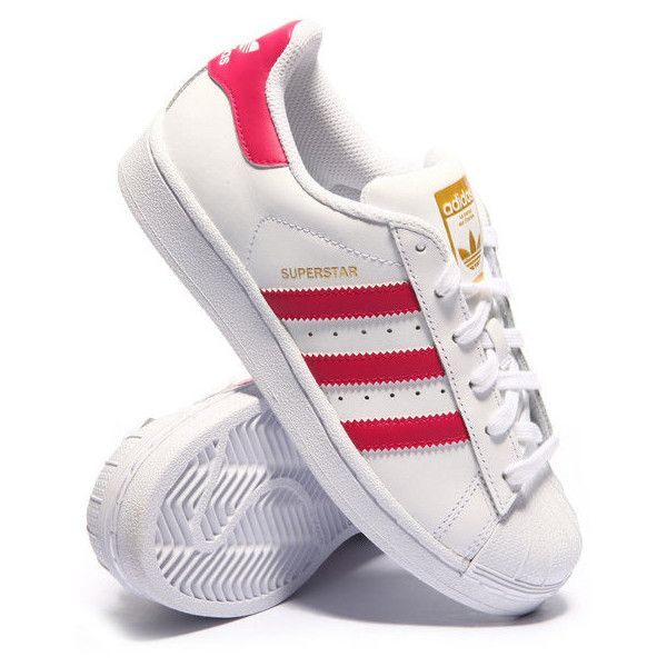 superstar j sneakers (3.5-7) by Adidas ($70) ❤ liked on
