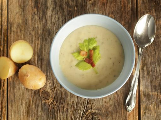Velouté de pommes de terre : Recette de Velouté de pommes de terre - Marmiton